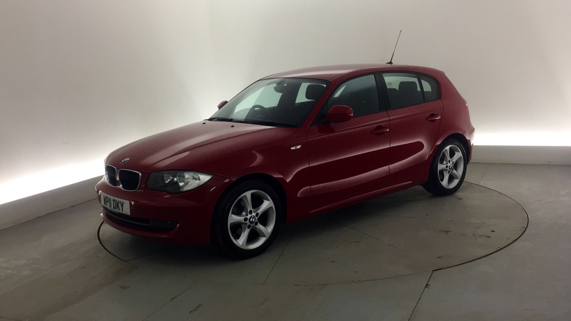 used bmw 1 series 116i 2 0 sport 5dr red wp11dky doncaster. Black Bedroom Furniture Sets. Home Design Ideas