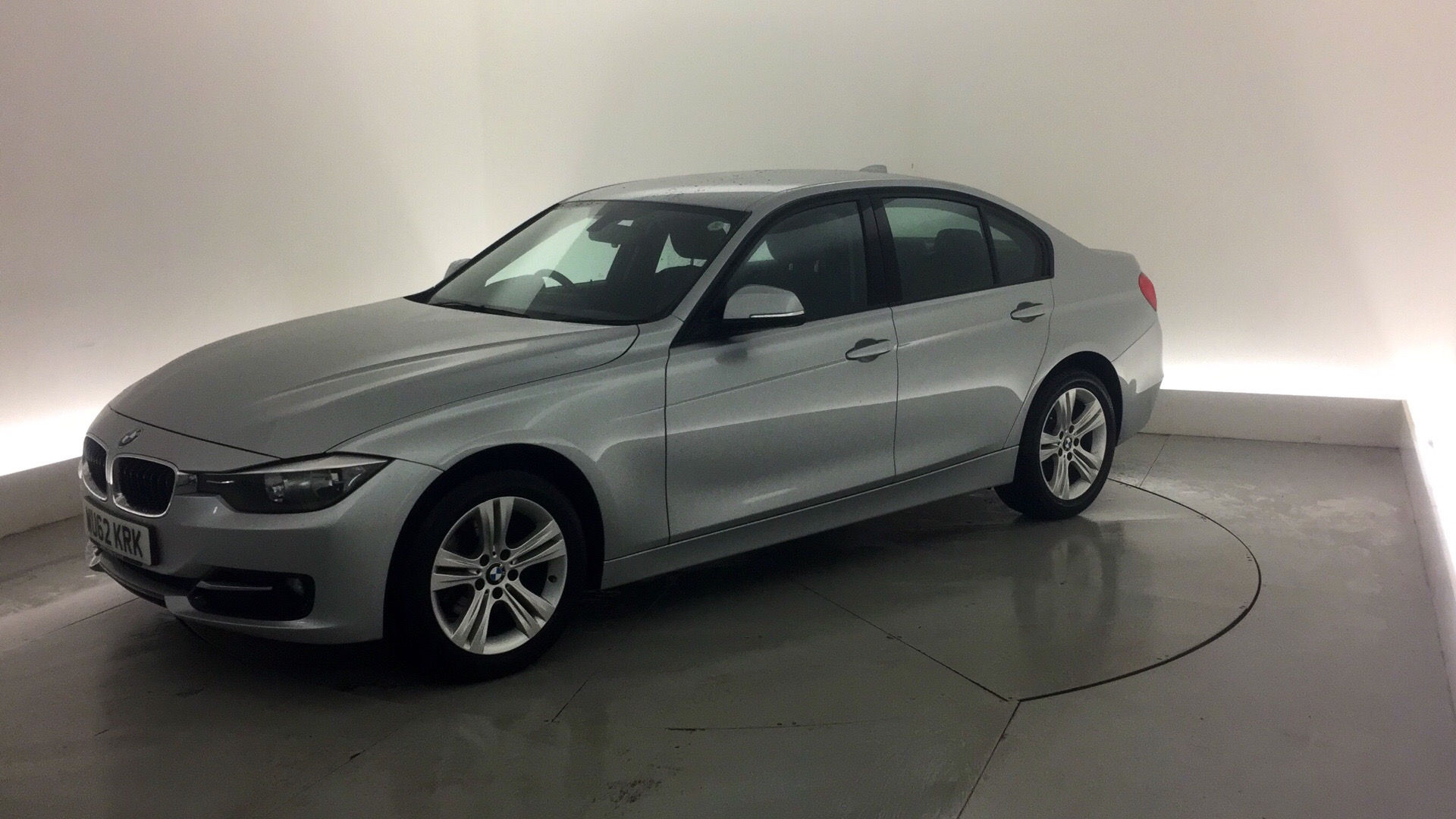 used bmw 3 series 316d sport 4dr silver wu62krk northampton. Black Bedroom Furniture Sets. Home Design Ideas
