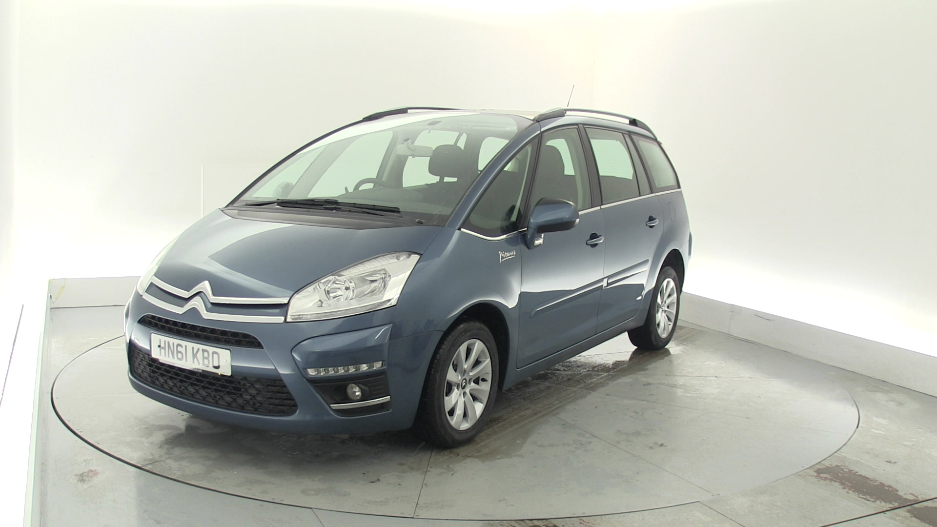 used citroen c4 grand picasso 1 6 e hdi airdream vtr 5dr egs6 blue hn61kbo cardiff. Black Bedroom Furniture Sets. Home Design Ideas