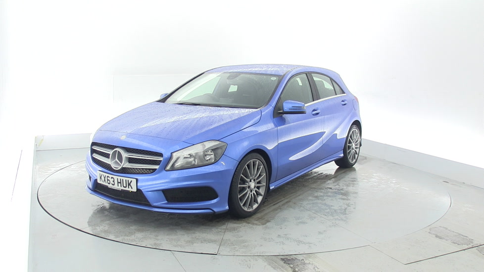 Used mercedes benz a class a180 cdi amg sport 5dr blue for How much is a mercedes benz c class