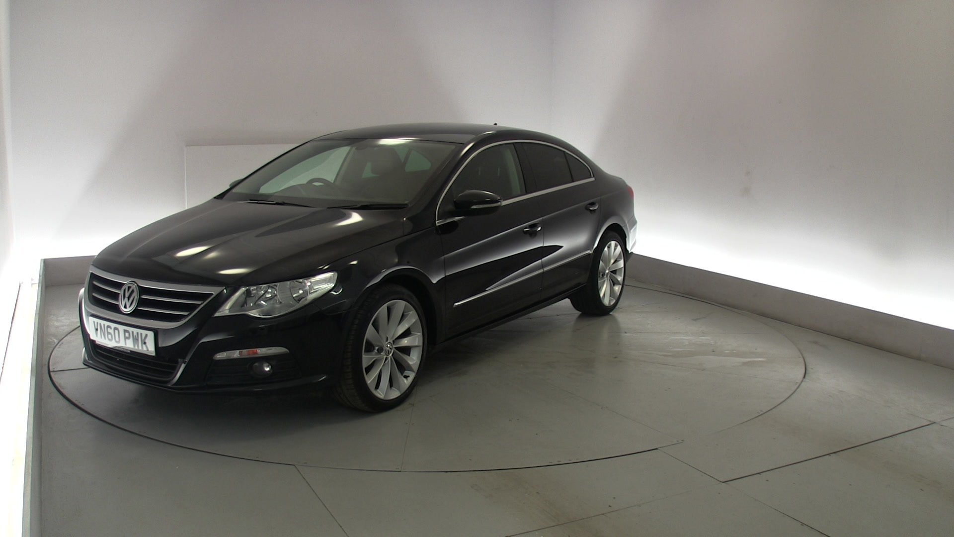 used volkswagen passat cc 2 0 gt tdi 170 4dr black vn60pwk northampton. Black Bedroom Furniture Sets. Home Design Ideas