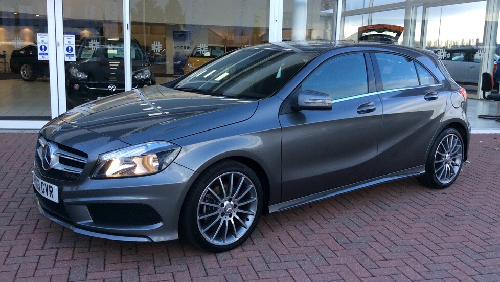 used mercedes benz a class a200 cdi blueefficiency amg sport 5 doors hatchback for sale in. Black Bedroom Furniture Sets. Home Design Ideas