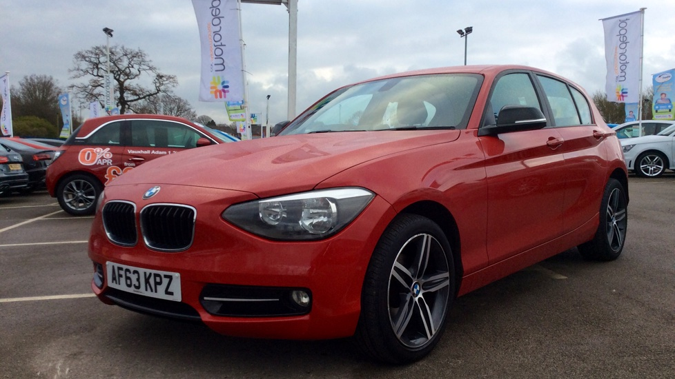 used bmw 1 series 114i sport 5 doors hatchback for sale in birmingham west midlands motor. Black Bedroom Furniture Sets. Home Design Ideas