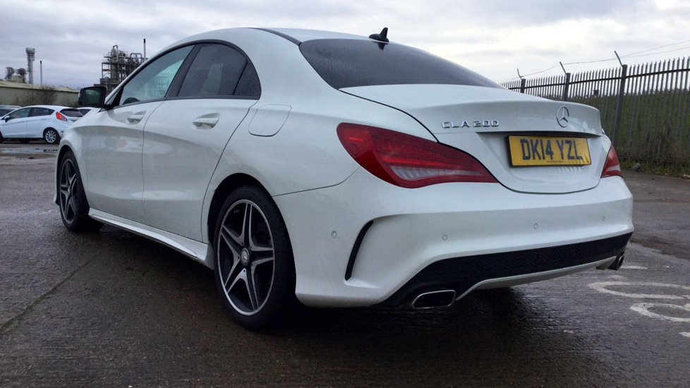 used mercedes benz cla class cla 200 cdi amg sport tip auto 4 doors saloon for sale in hessle. Black Bedroom Furniture Sets. Home Design Ideas