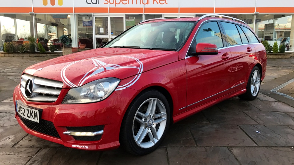 Used mercedes benz c class c220 cdi blueefficiency amg for Estate motors mercedes benz