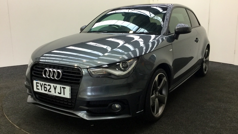 used audi a1 1 4 tfsi 185 black edition s tronic sat nav. Black Bedroom Furniture Sets. Home Design Ideas