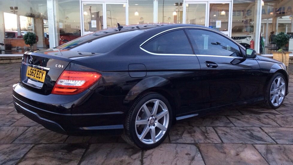 mercedes c class coupe c250 cdi amg sport auto. Black Bedroom Furniture Sets. Home Design Ideas