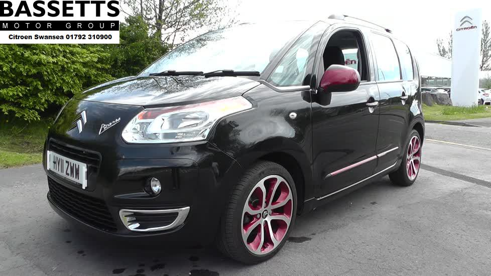 CITROEN C3 PICASSO 1.6 HDi 8V Blackcherry 5dr