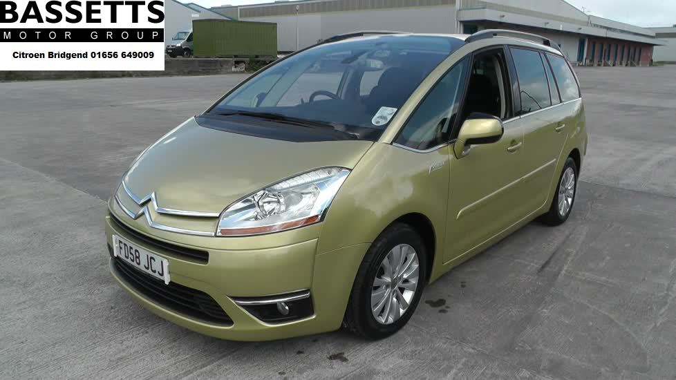 CITROEN C4 GRAND PICASSO 1.6i THP Exclusive 5dr EGS