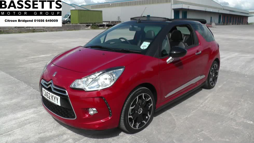 CITROEN DS3 1.6 THP 16V 155 DSport 3dr