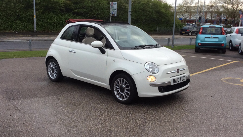 Fiat 500 Convertable 1.2 Lounge 2dr [Start Stop] Convertible (2010) image