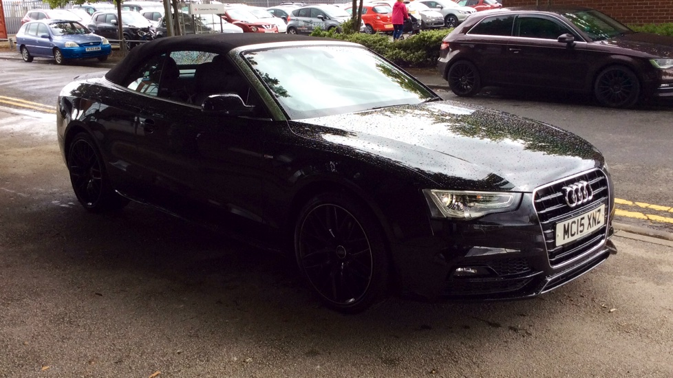 Audi A5 2.0T FSI 225 S Line Special Edition Plus 2dr Convertible (2015) image