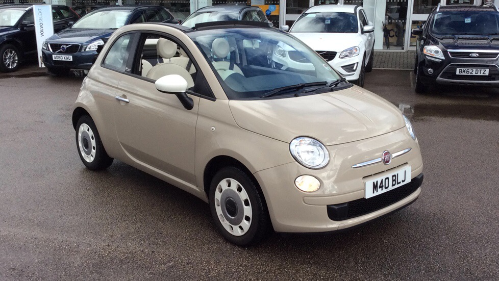 fiat 500 1 2 colour therapy 2dr convertible 2014 image