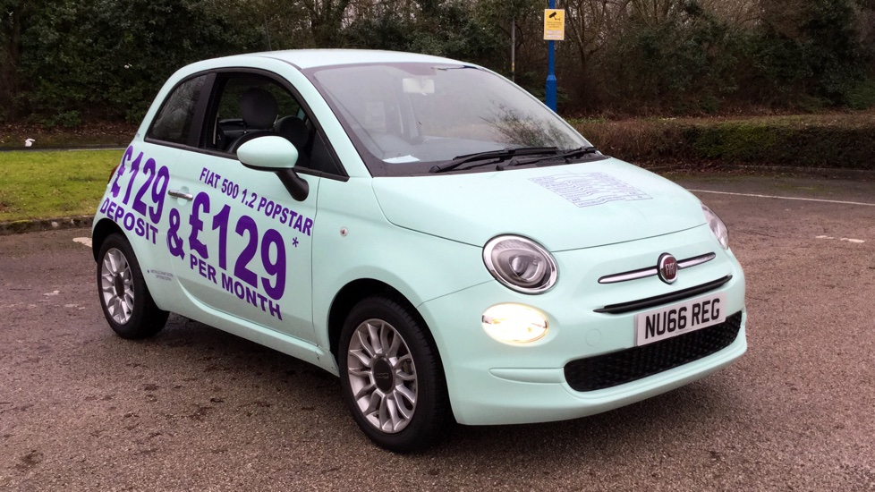 Fiat 500 1.2 Pop Star 3dr Hatchback (2015) image