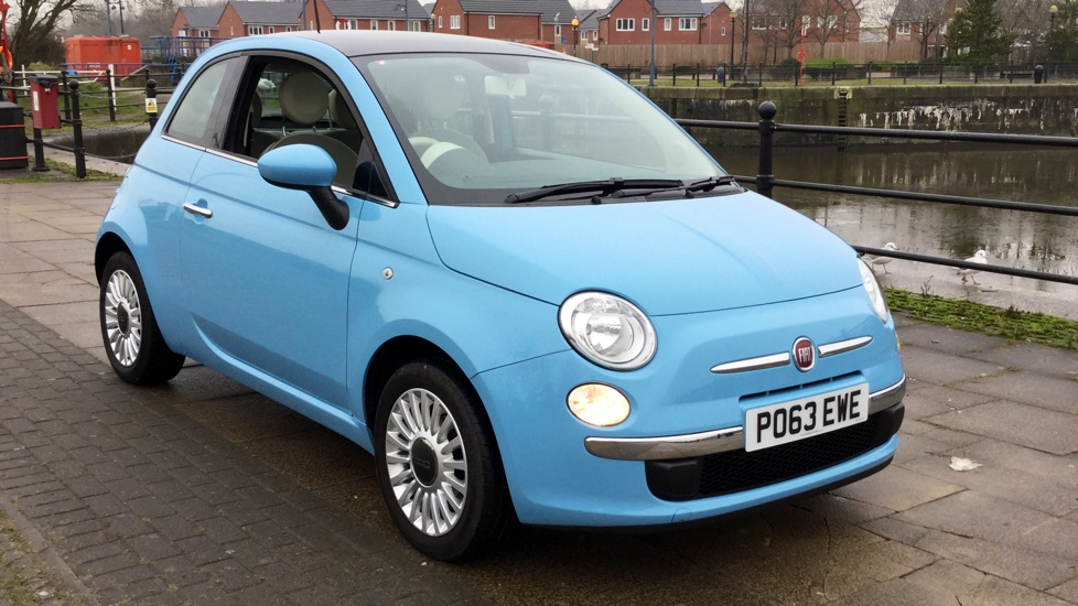 Fiat 500 1.2 Lounge [Start Stop] with Bluetooth, Air-Con, Alloys 3 door Hatchback (2013) image
