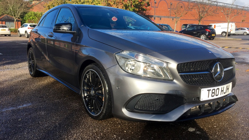 Mercedes-Benz A-Class A200d AMG Line Executive with Panoramic Roof & SAT NAV 2.1 Diesel Automatic 5 door Hatchback (2016) image