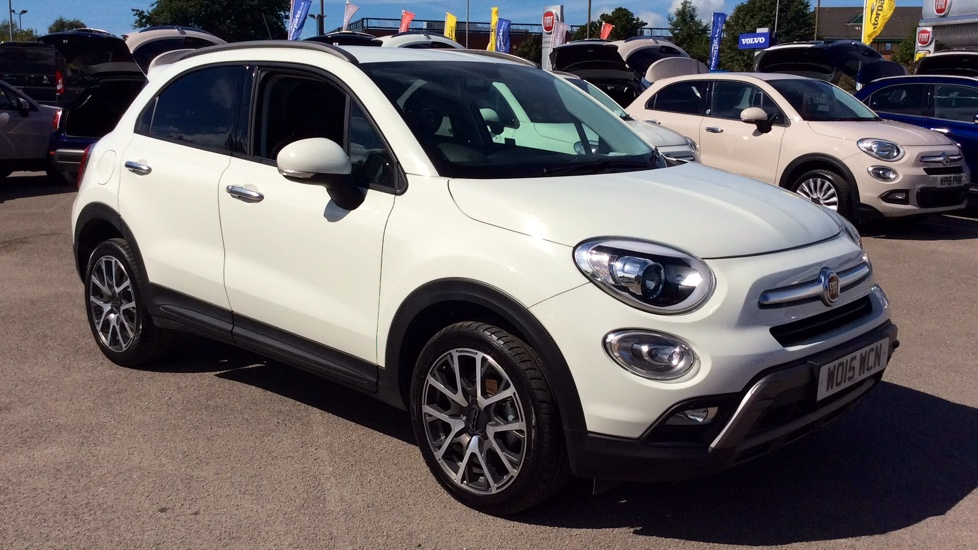 Fiat 500x 1 6 Multijet Cross 5dr Diesel Hatchback 2015