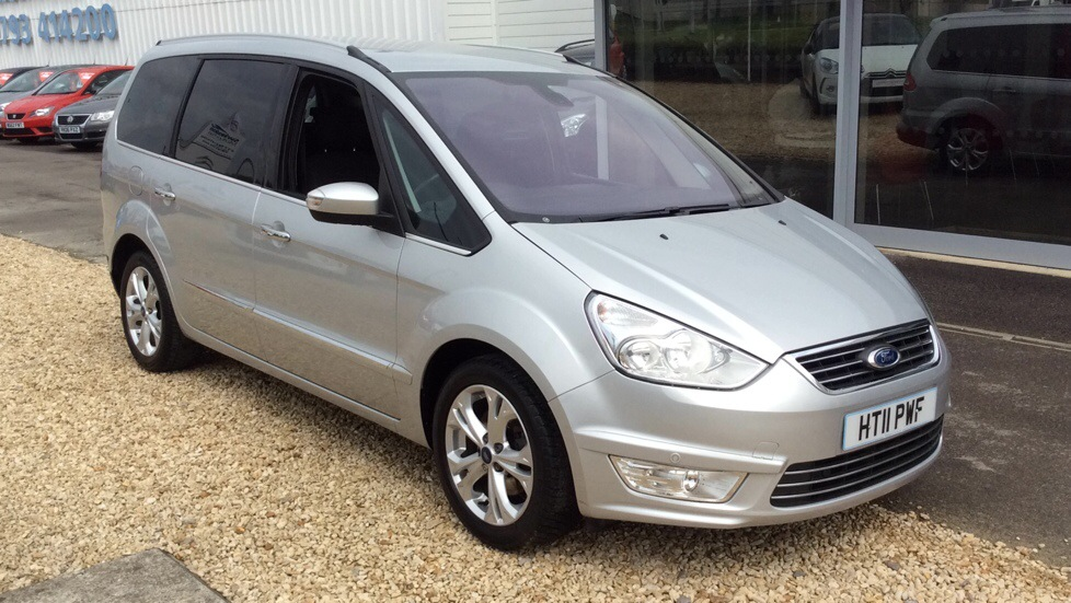 Ford Galaxy 2.0 TDCi Tiatanium 5Dr 163PS Powershift Diesel Automatic 5 door MPV (2011) image