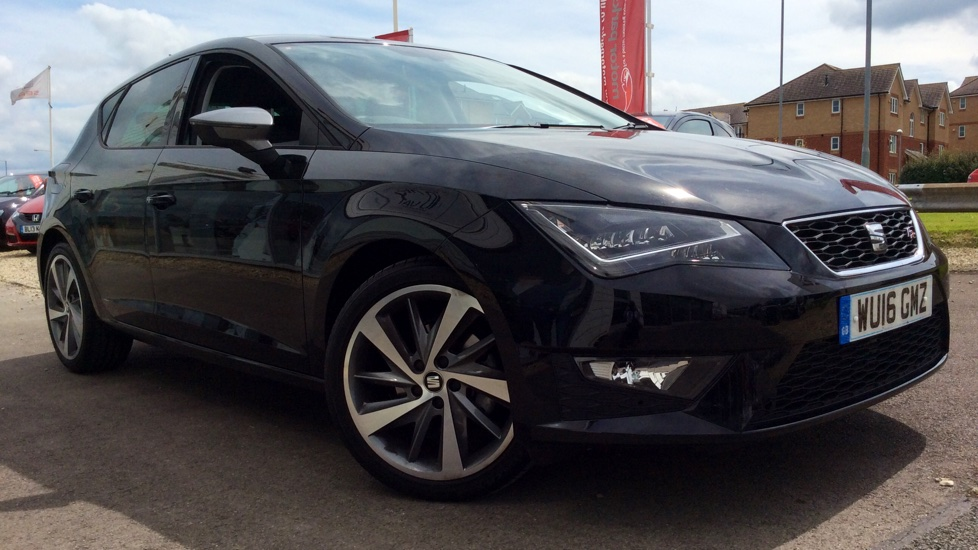 seat leon 2 0 tdi fr technology pack diesel 5 door. Black Bedroom Furniture Sets. Home Design Ideas
