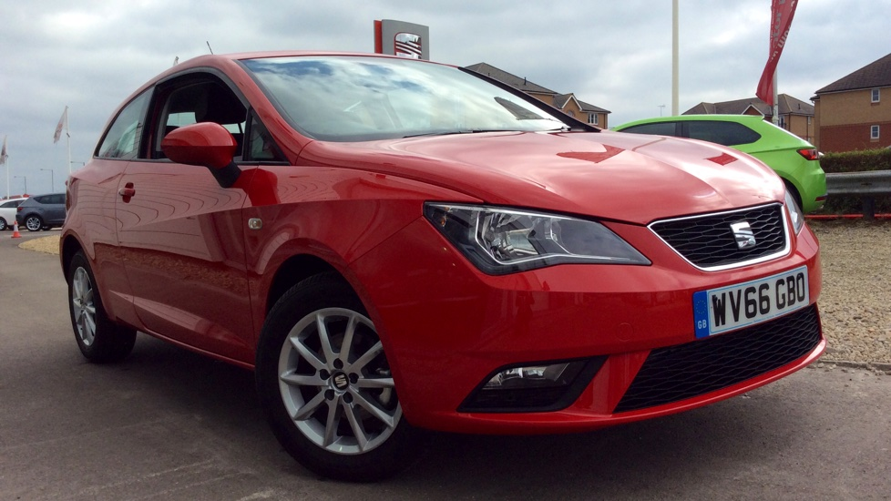 seat ibiza sc 1 2 tsi 90ps se technology 3 door hatchback 2016 wv66gbo in stock used. Black Bedroom Furniture Sets. Home Design Ideas