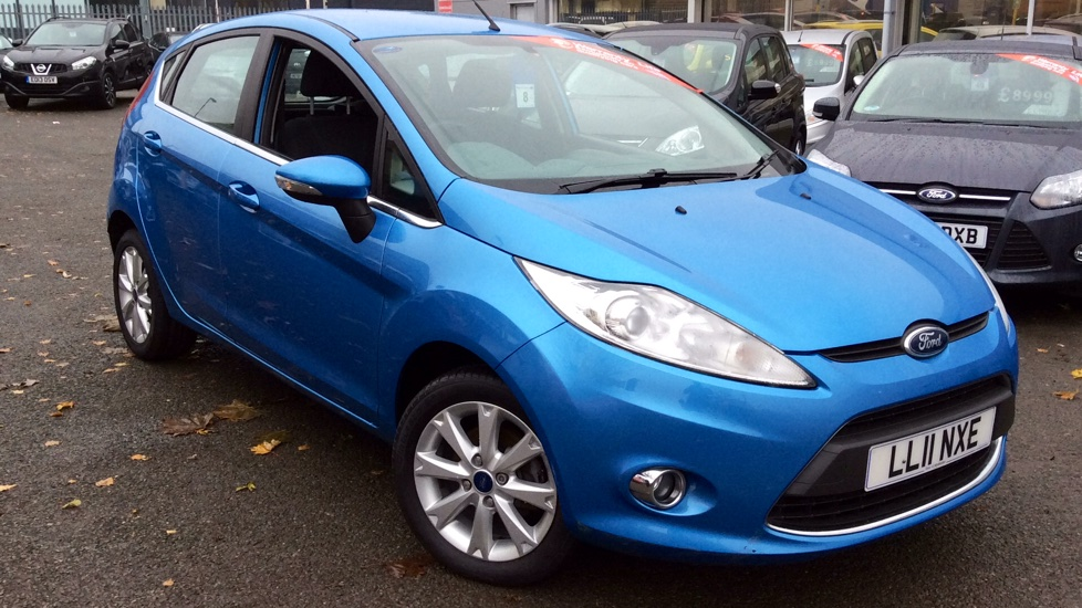Ford Fiesta 1.25 Zetec [82] 5 door Hatchback (2011)