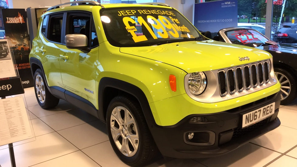 Md on Jeep Renegade 1 6 Multijet Limited 5dr 2015