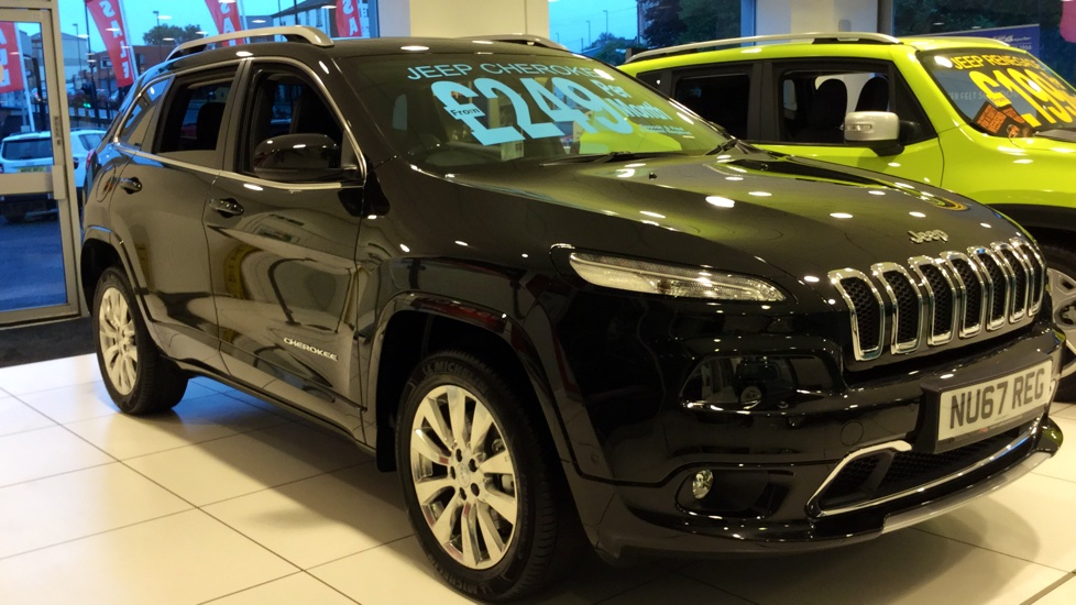 Jeep Cherokee 2.2 Multijet 200 Overland 5dr Auto Diesel Automatic (2016) image
