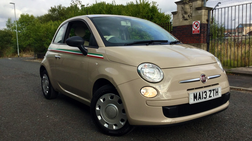 used fiat 500 beige cars for sale motorparks. Black Bedroom Furniture Sets. Home Design Ideas