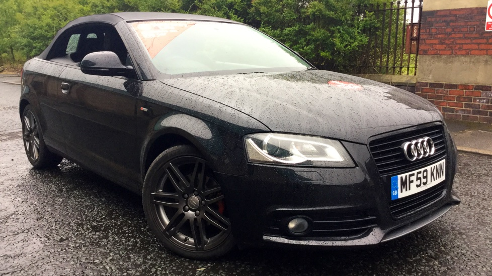 Audi A3 2.0 TDI Black Edition 2dr S Tronic Diesel Automatic Cabriolet (2009) image
