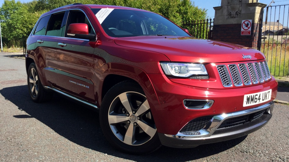 Jeep Grand Cherokee 3.0 CRD Summit 5dr Diesel Automatic (2014) image