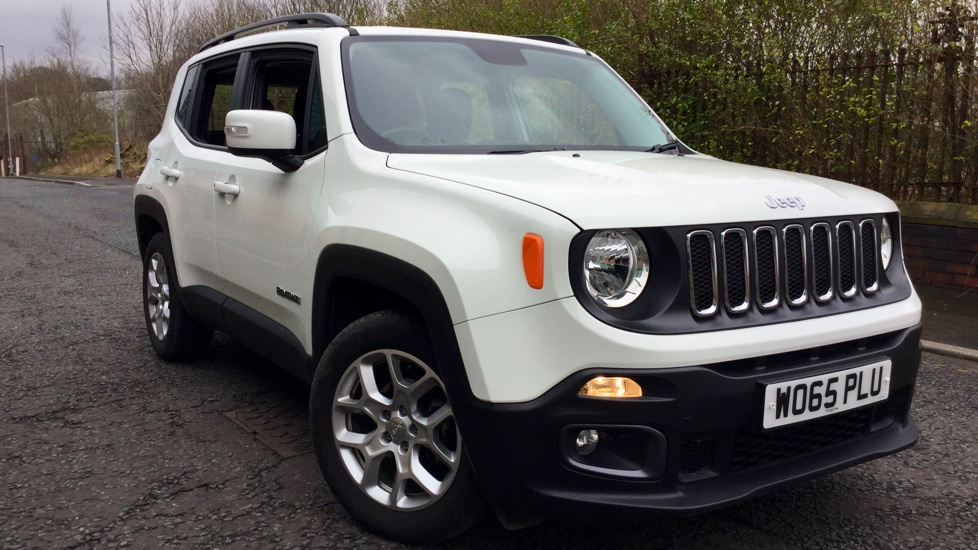 Jeep Renegade Longitude Petrol White Wo Plu Md on Jeep Renegade 1 4 Multiair Longitude 5dr 2015
