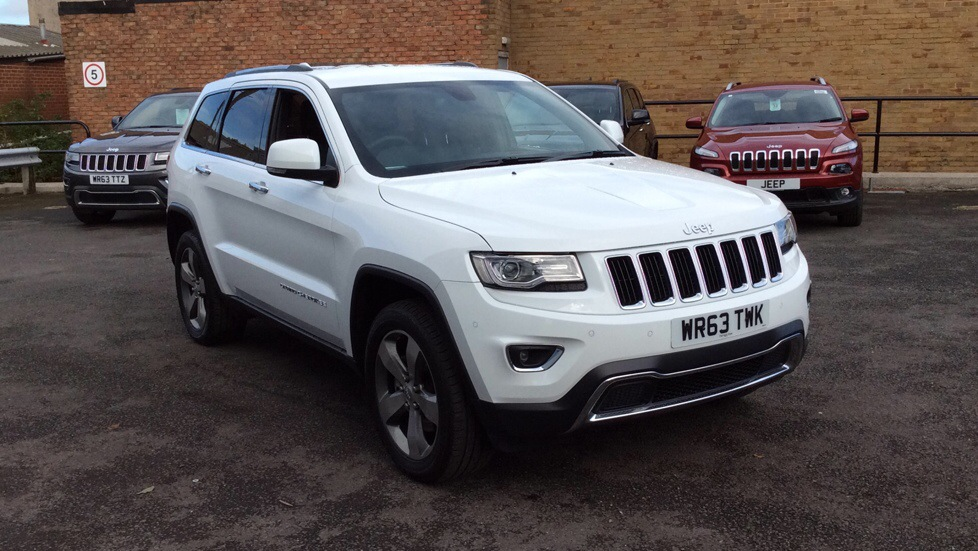 Jeep Grand Cherokee  3.0 CRD Limited Plus 5dr Auto SW Diesel 4x4  (2013) image