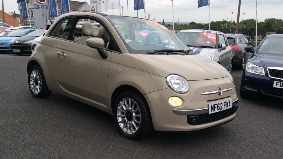 Fiat 500 1.2 Lounge 2dr [Start Stop] Convertible (2012) image