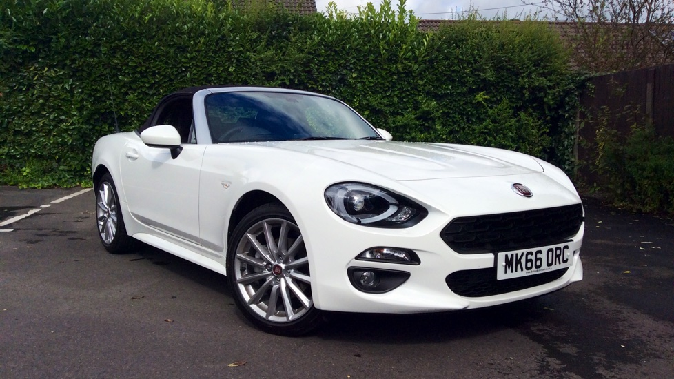 fiat 124 spider 1 4 multiair lusso plus 2dr convertible 2016 mk66orc in stock used fiat. Black Bedroom Furniture Sets. Home Design Ideas