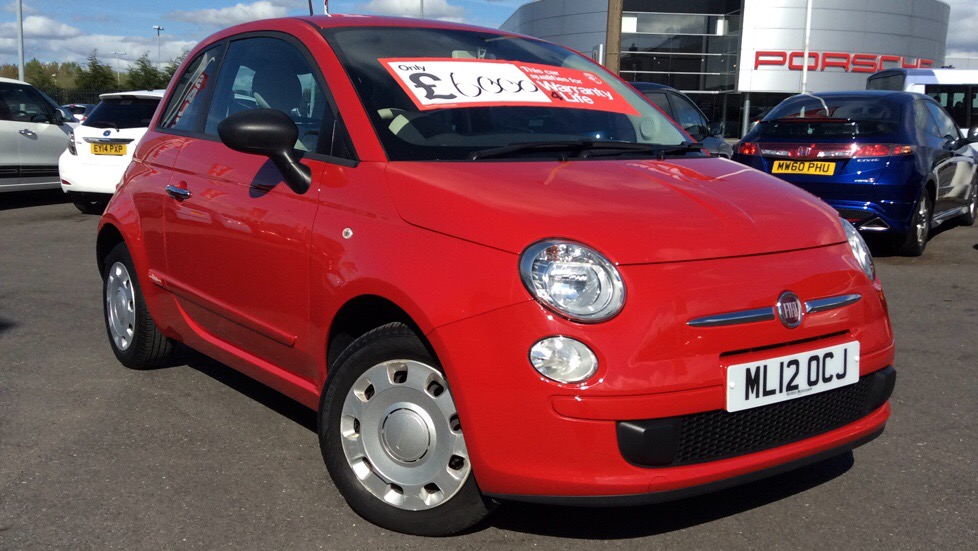 Fiat 500 1.2 POP 3dr Hatchback (2012) image