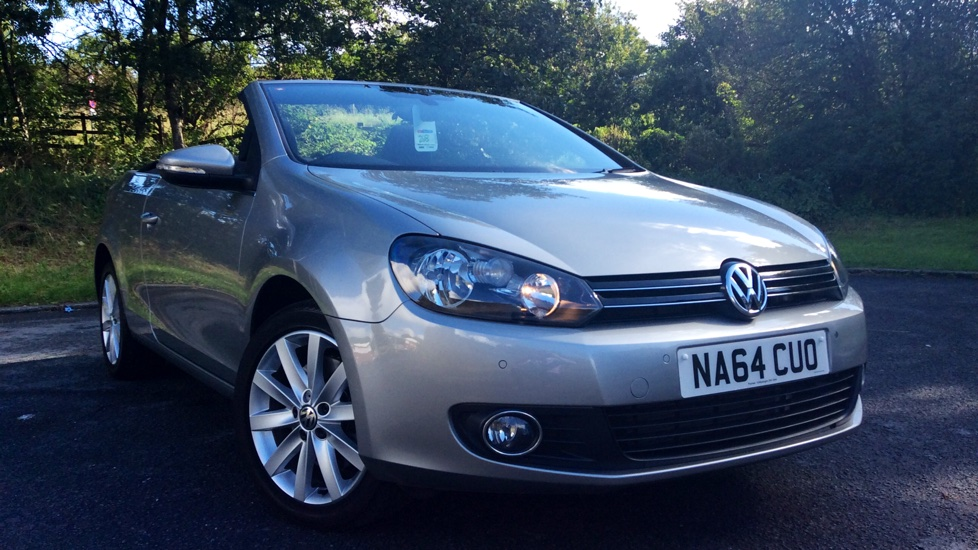 Volkswagen Golf 2.0 TDI BlueMotion Tech SE 2dr DSG Diesel Automatic 4 door Cabriolet (2014) image
