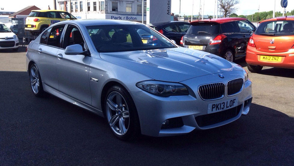 BMW 5 Series 520d M Sport 4dr Step Auto [Start Stop] 2.0 Diesel Automatic Saloon (2013) image