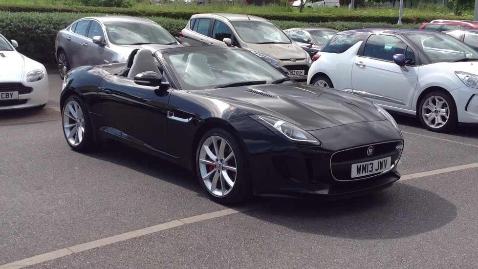 Jaguar F-TYPE 3.0 Convertible (340PS) Automatic 2 door (2014) image