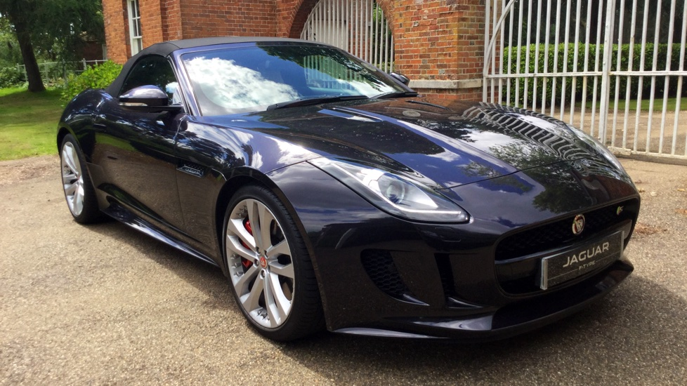 Jaguar F-TYPE 3.0 Supercharged V6 S 2dr Automatic 3 door Convertible (2016) image