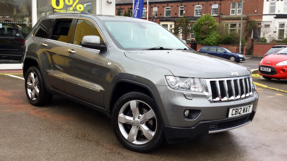 Jeep Grand Cherokee 3.0 CRD Limited 5dr Diesel Automatic Estate (2012) image