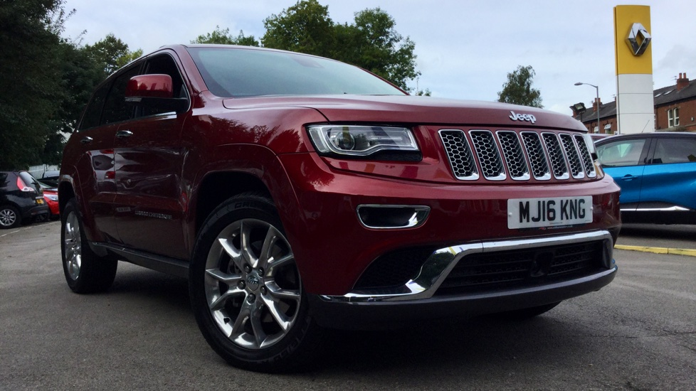 Jeep Grand Cherokee 3.0 CRD Summit 5dr Diesel Automatic Estate (2016) image