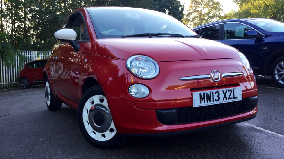 Fiat 500 1.2 Colour Therapy 3dr Hatchback (2013)