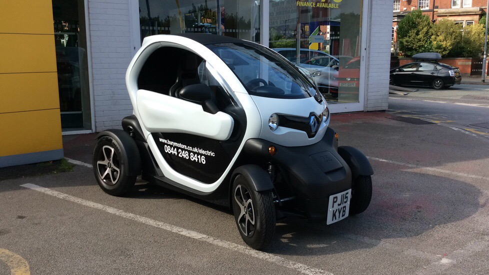 Renault Twizy COUPE,13kW Urban 2dr Auto  Electric Automatic Coupe (2015) image
