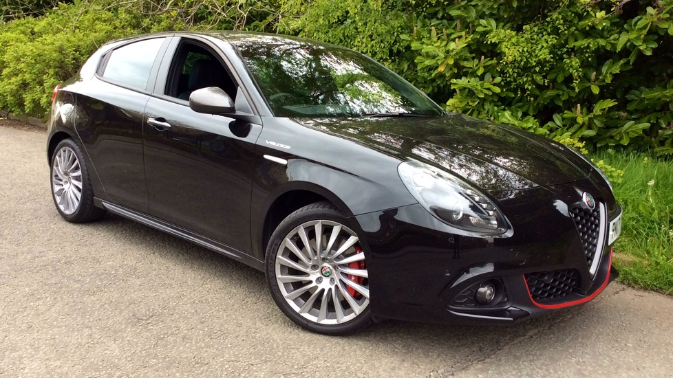 Alfa Romeo Giulietta 1.75 TBi 240 Veloce TCT with Low Mileage, Sat Nav & Parking Sensors Automatic 5 door Hatchback (2017) image