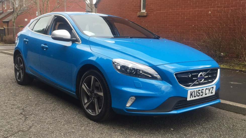 Volvo V40 D3 [4 Cyl 150] R DESIGN Lux Nav Geartronic 2.0 Diesel Automatic 5 door Hatchback (2015) image