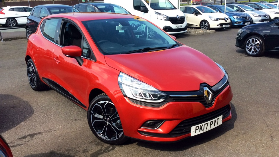 used renault clio red cars for sale motorparks. Black Bedroom Furniture Sets. Home Design Ideas