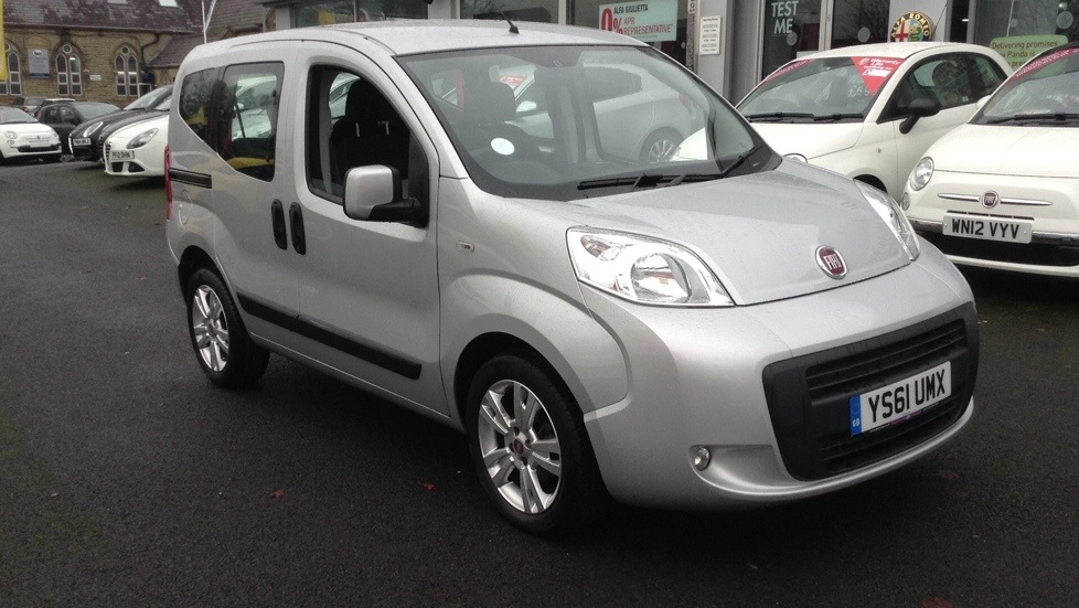 Fiat Qubo 1.3 Multijet MyLife 5dr Dualogic [Start Stop] 1.2 Diesel Automatic Estate (2012) image
