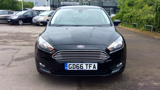 FORD FOCUS ZETEC TDCI HATCHBACK, DIESEL, in BLACK, 2016 - image 1