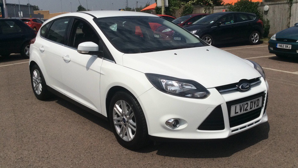 Ford Focus 1.6 125 Titanium 5dr Powershift Automatic Hatchback (2012) image