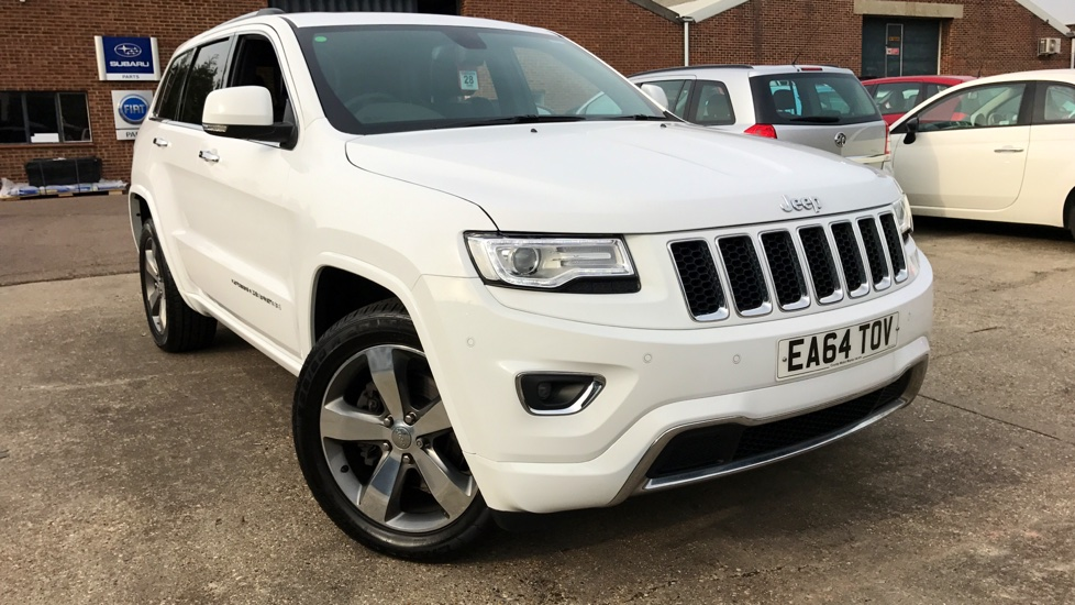 Jeep Grand Cherokee 3.0 CRD Overland 5dr Diesel Automatic MPV (2015 ...